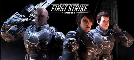 Scraper First Strike by Labrodex Studio logo