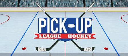 Pick-up League Hockey by Electric Falcon logo
