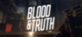 Blood and Truth by Sony London Studio logo