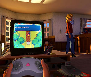 Pixel Ripped 1995 by Arvore for the HTC Vive, Oculus Rift, Valve Index and Windows Mixed-Realiy platforms