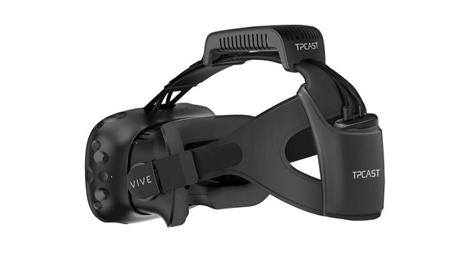 TPCast preorders are now available via Microsoft!  $299.99 for wireless HTC Vive solution