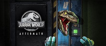 Jurrasic World: Aftermath by Coatsink logo