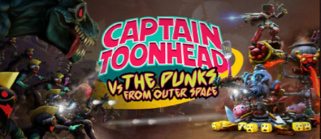 Captain Toonhead vs. The Punks from Outer Space by Teravision Games logo