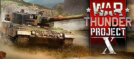 War Thunder: Project X by Gaijin Entertainment logo