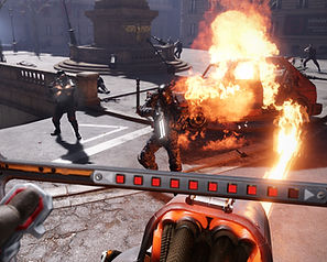 Wolfenstein Cyberpilot by Machine Games for the HTC Vive, Oculus Rift and PlayStation VR