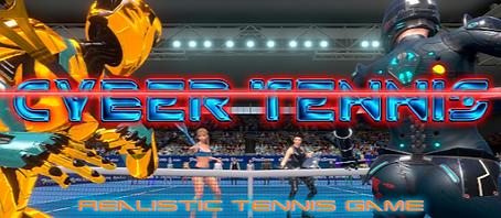 Cyber Tennis by TECHNICAL ARTS logo