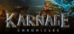 Karnage Chronicles logo by Nordic Trolls for the HTC Vive and Oculus Rift