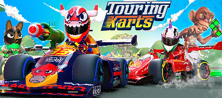Touring Karts by Ivanovich Games logo