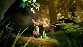 Moss delivers an adorable mixture of platforming and puzzle solving