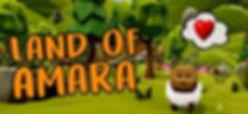 Land of Amara by Paw Stamp Studio logo
