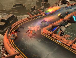 Blaze Rush by Targem Games for the Oculus Rift