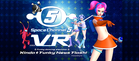 Space Channel 5 VR Kinda Funky News Flash! by Grounding Inc. logo