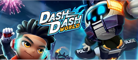 Dash Dash World VR by Motion X Studio Logo