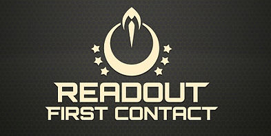 Readout First Contact logo by Dual Mirror Games for PSVR