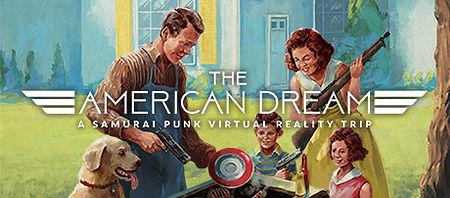 The American Dream logo by Samurai Punk for HTC Vive