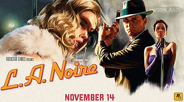 L.A. Noire: The VR Case Files by Rockstar logo