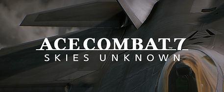 Ace Combat 7 Skies Unknown by Bandai Namco logo