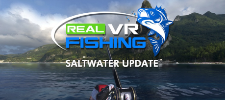 Real VR Fishing by MIRAGESOFT inc. logo