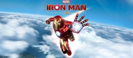 Marvel's Iron Man VR by Camouflaj logo