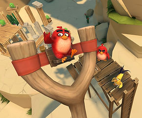 Angry Birds VR: Isle of Pigs by Resolution Games for the Oculus Quest