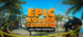 Epic Roller Coasters by B4T Games logo
