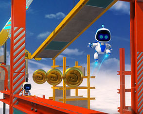 Astro Bot: Rescue Mission by Japan Studio for the PlayStation VR platform