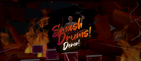 Smash Drums Demo by PotamWorks logo