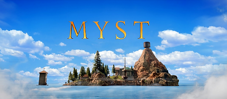 Myst by Cyan Inc. logo