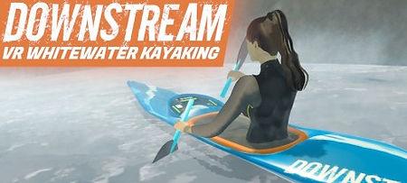 Downstream: VR Whitewater Kayaking by JumpStick logo