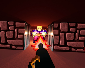 Wolfenstein 3D VR by Further Beyond for the HTC Vive, Oculus Rift, Valve Index and Windows Mixed-Reality plaforms, available on itch.io