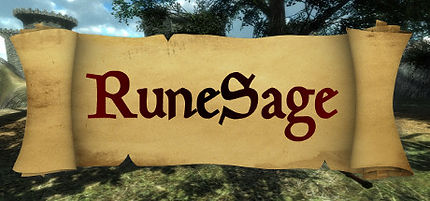 RuneSage logo by George Gilbert for the HTC Vive and Oculus Rift
