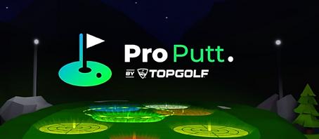 Pro Putt by Topgolf logo