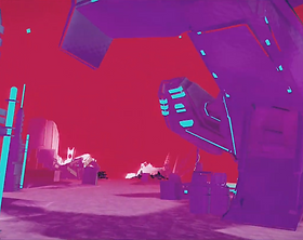 Pistol Whip 2089 by Cloudhead Games for the HTC Vive, Oculus Rift, Valve Index and Windows Mixed-Reality platforms