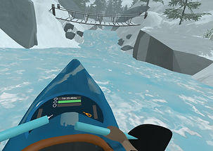 Downstream: VR Whitewater Kayaking by JumpStick for the HTC Vive & Oculus Rift
