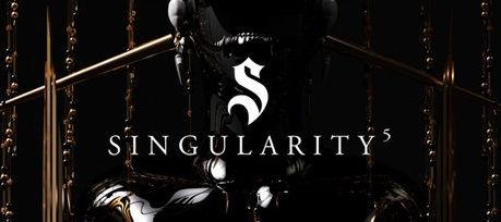 Singularity 5 logo by Monochrome Paris