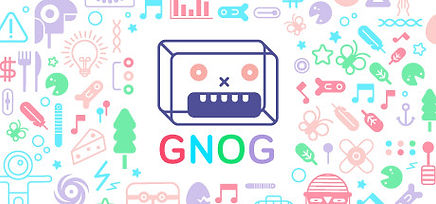 GNOG by Double Fine Productions logo