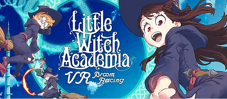 Little Witch Academia: VR Broom Racing by UNIVRS Inc. logo