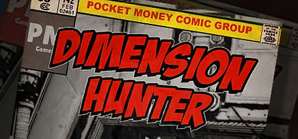 Dimension Hunter logo for PSVR, Vive & Rift