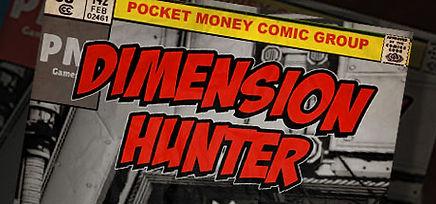 Dimension Hunter logo for PSVR, Vive & Rift