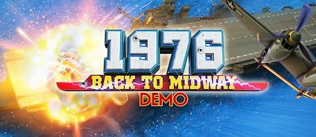 1976 Back to Midway Demo by Ivanovich Games logo