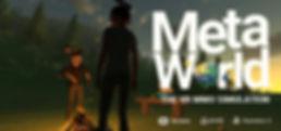 MetaWorld VR logo by HelloVR for Vive, Rift and PSVR