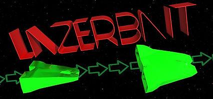 Lazerbait logo by Taylor Stapleton