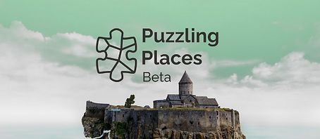 Puzzling Places Beta by realities.io logo