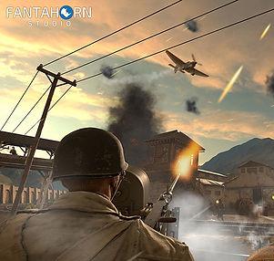 Front Defense by Fantahorn Studio for HTC Vive