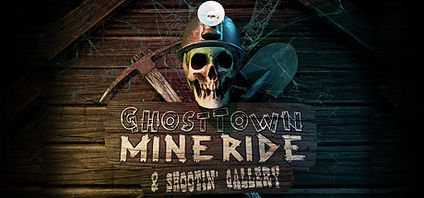 Ghost Town Mine Ride by Spectral Illusions logo