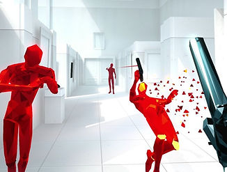 Super HOT by Super HOT Team for the HTC Vive, Oculus Rift and Windows Mixed-Reality