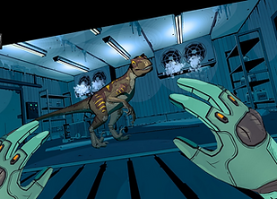 Jurassic World: Aftermath by Coatsink for the Oculus Quest 2 and Oculus Quest