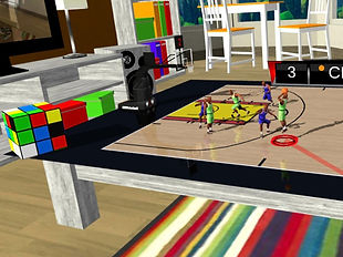 Tabletop Basketball VR by RedZone Studios for the HTC Vive and Oculus Rift