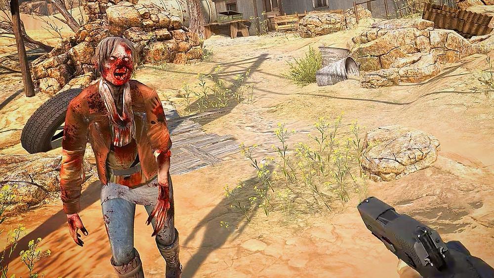 Arizona Sunshine by Vertigo Games for HTC Vive, Oculus Rift and PSVR