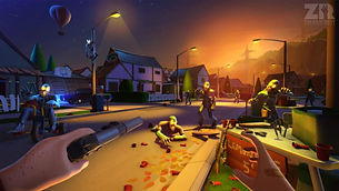 Zombie Riot by PlaySide Studios for Oculus Rift and HTC Vive